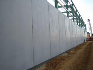 Panel gris pulido
